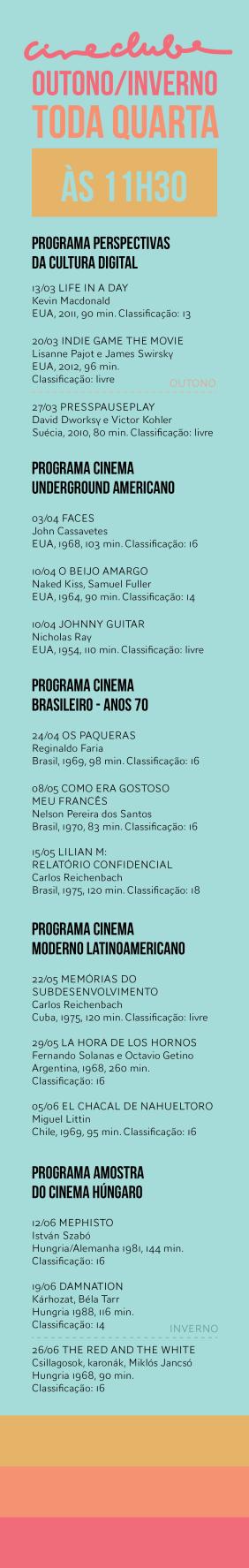 Programação 2013